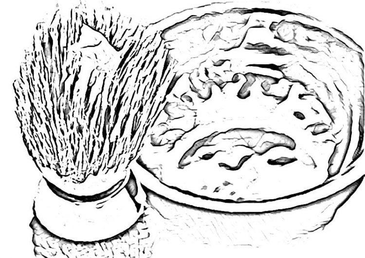 Utilisez un bol de rasage