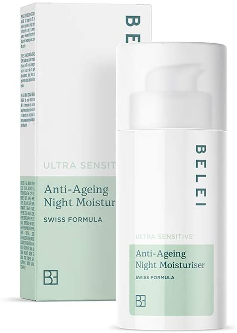 Crème de nuit hydratante et anti-âge Belei