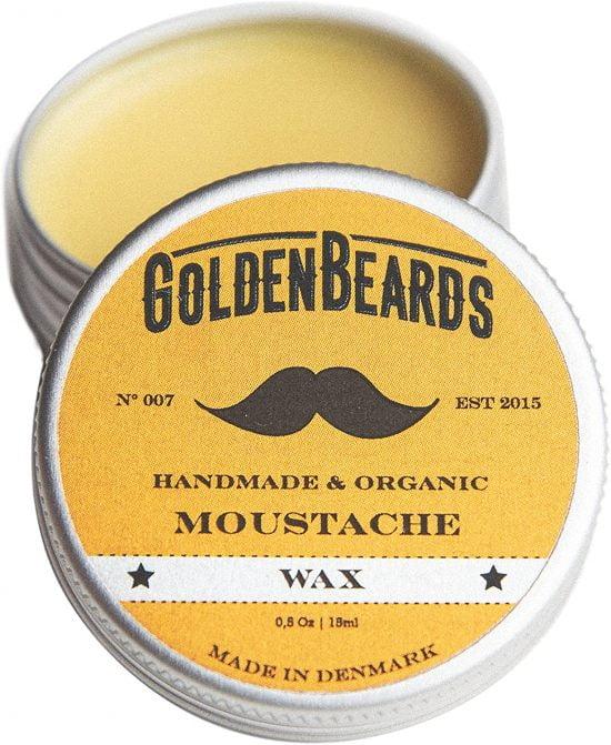 Cire à moustache Golden Beards