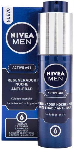Crème hydratante de nuit homme Nivea Men Active