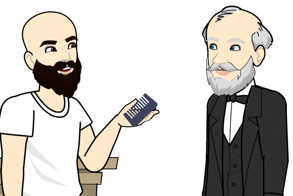 meilleurs peignes à barbe