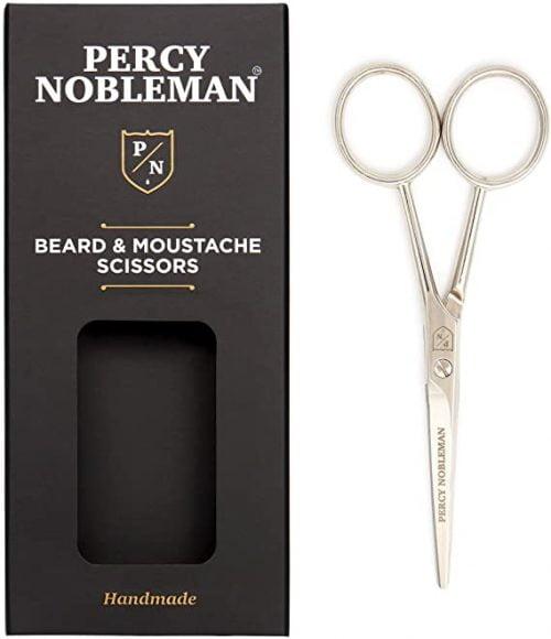 Ciseaux à barbe et moustache par Percy Nobleman