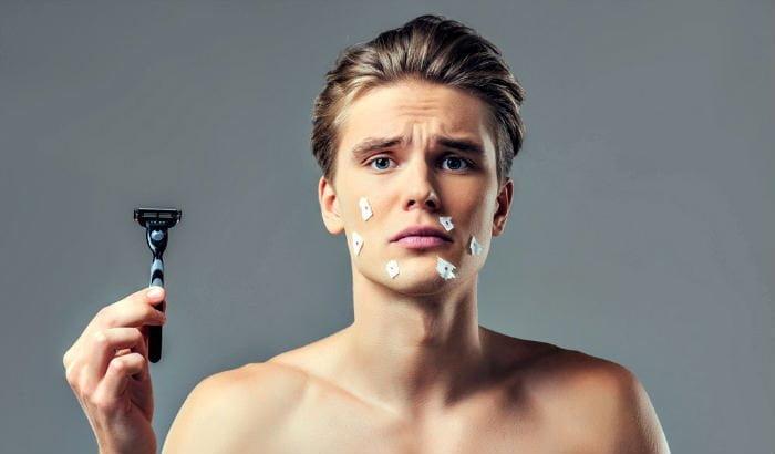 le rasage provoque vraiment de l'acné ?
