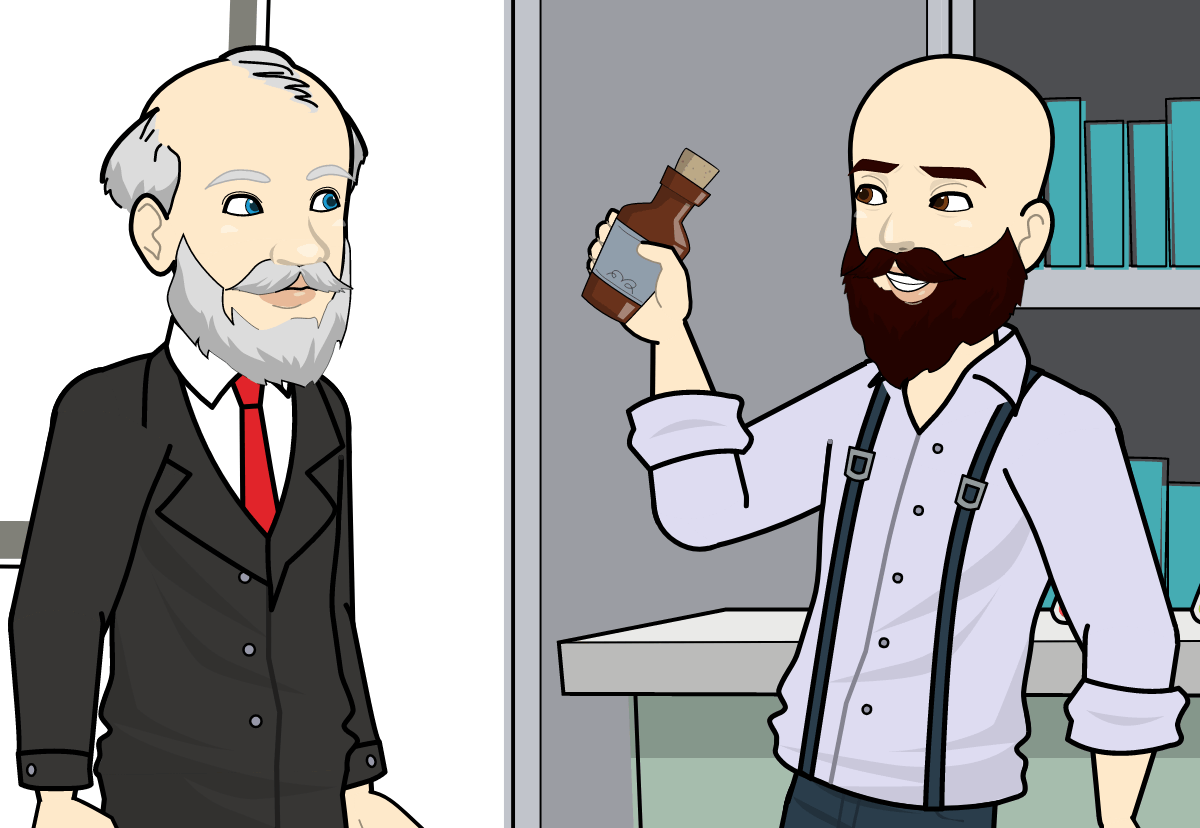 Les différents éléments qui constituent l'huile à barbe