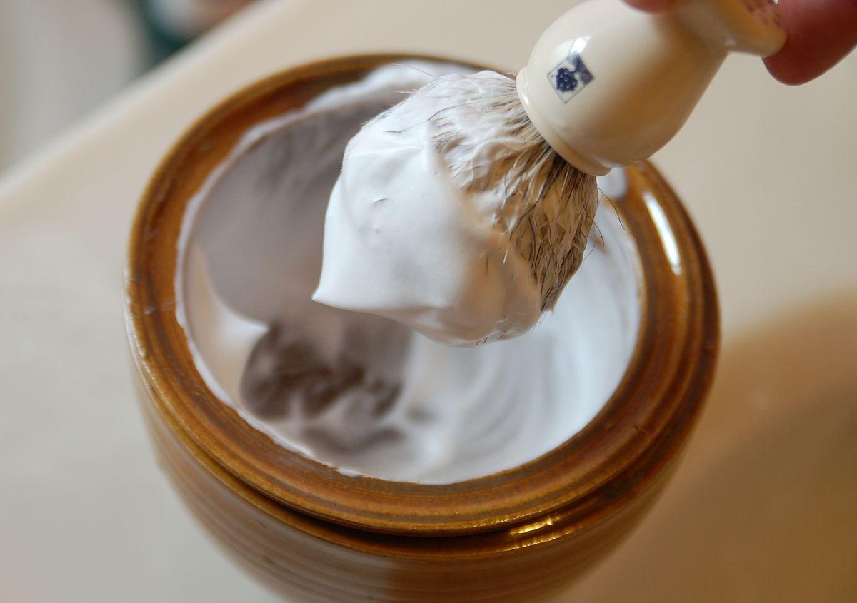 Faites du slime en utilisant de la mousse à raser