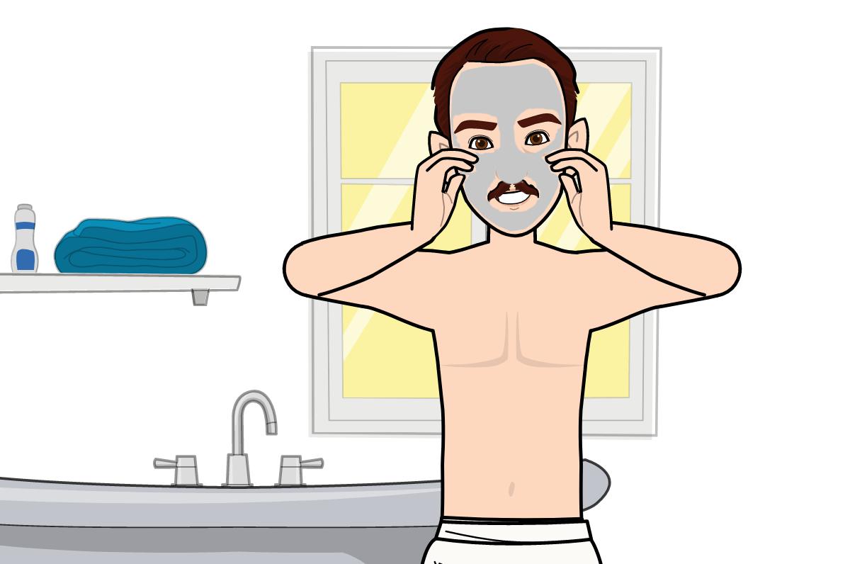 Gommage visage homme : l'essentiel pour bien soigner votre peau