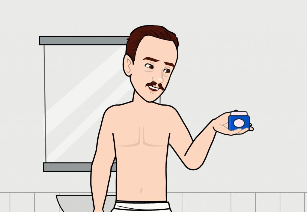 guide crème dépilatoire pour homme