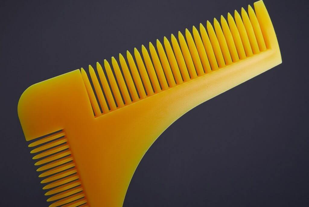 Pochoir de barbe