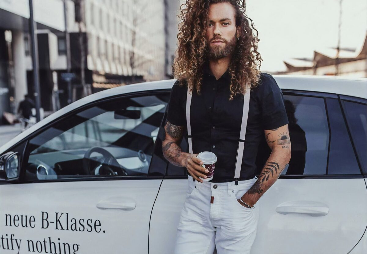 Coupes Cheveux longs hommes